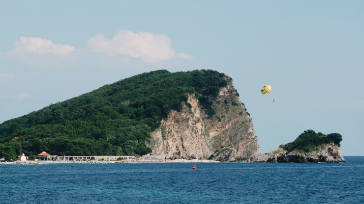 One of the 3 islands guarding Ksamil