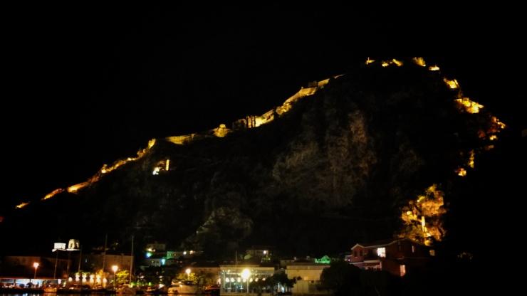 Kotor's extensive ancient walls