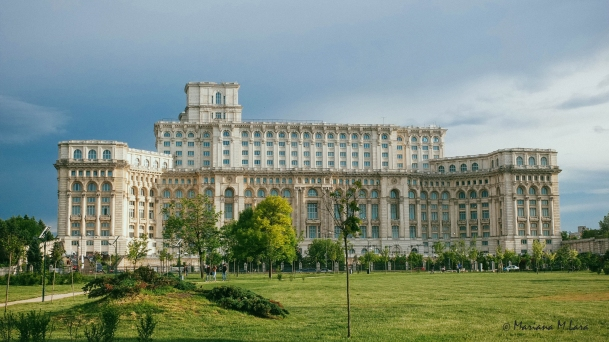 People's House in Bucharest is only second in size to the Pentagon. And yes, sometimes Romanians throw a huge bbq party there.
