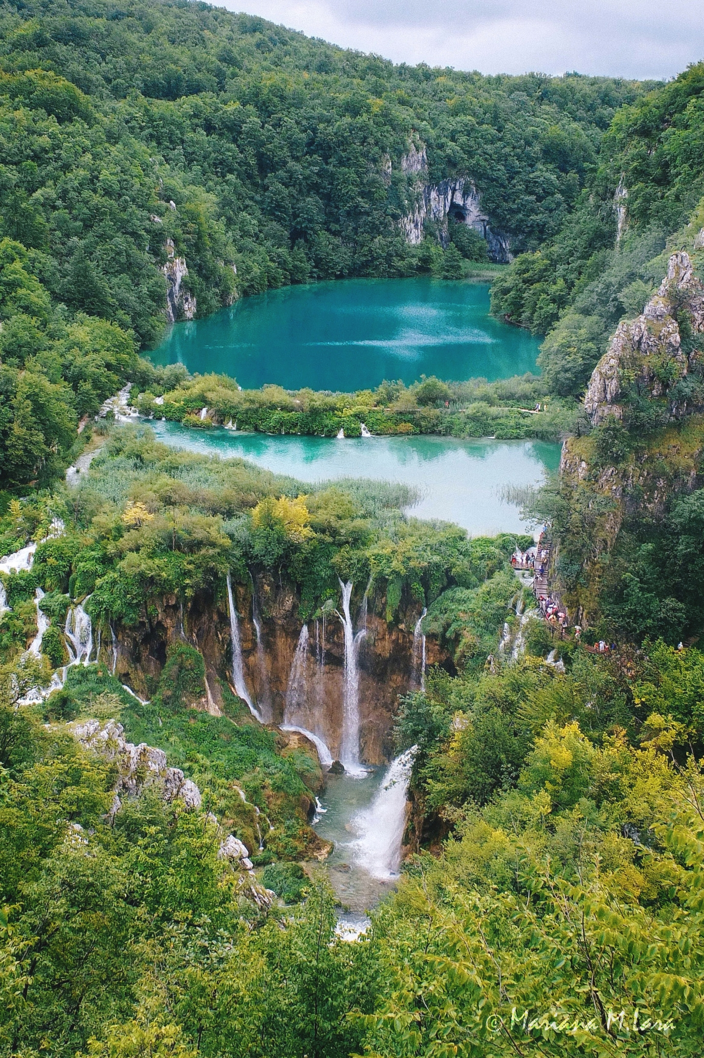 Can't dive in but can't miss. Plitvice Lakes, Croatia