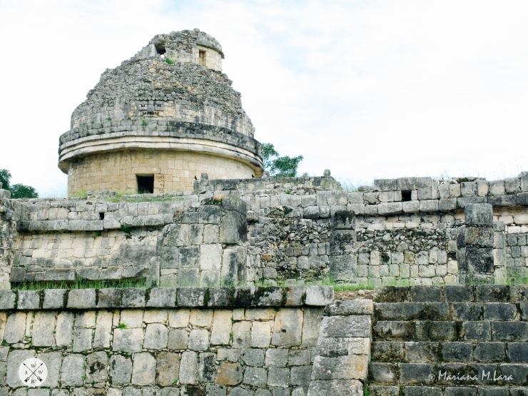Chichen Itza is not just about its Pyramid. El Caracol for instance is the place Mayans used to observe planets and stars