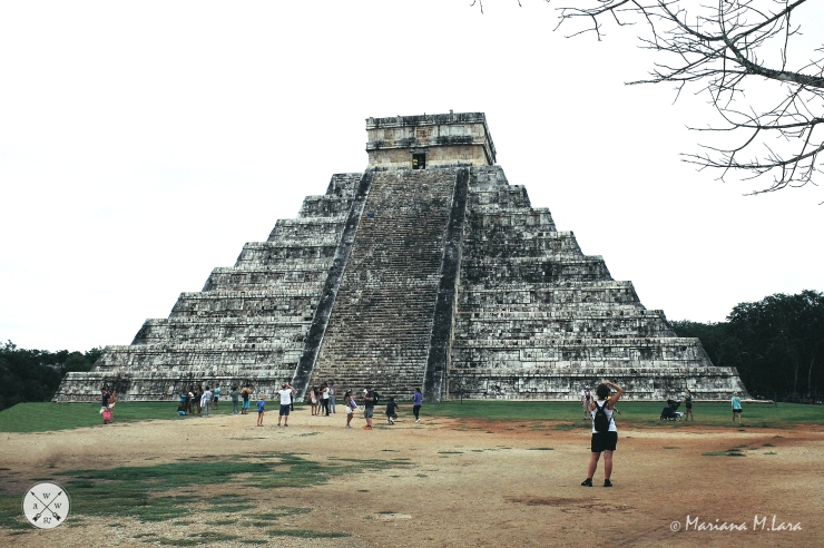 El Castillo, or the Pyramid of Kukulkan, is the centrepiece of Chichen Itza